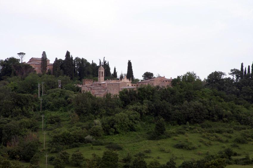Verlassenes Dorf in Italien